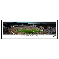 Colorado Buffaloes Stadium 50-Yard Line Framed Wall Art