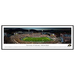 Colorado Buffaloes Stadium 50-Yard Line Framed Wall Art