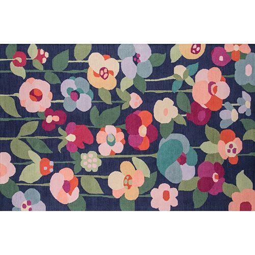 Momeni Newport Dorset Floral Wool Rug