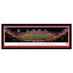 Houston Cougars Stadium Night Game Framed Wall Art
