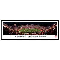 Houston Cougars Stadium Night Game Framed Wall Art