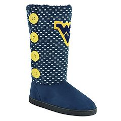Women's West Virginia Mountaineers Button Boots