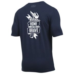 Men's Under Armour Home Of the Brave Tee
