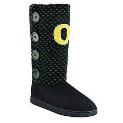 Women's Oregon Ducks Button Boots