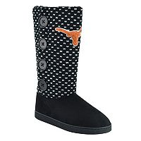 Women's Texas Longhorns Button Boots