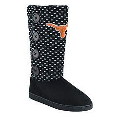 Women's Texas Longhorns Button Boots