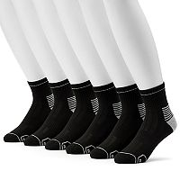 Men's Wilson 6-pack Sport Quarter Socks