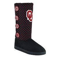Women's Oklahoma Sooners Button Boots