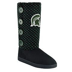 Women's Michigan State Spartans Button Boots