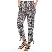 Women's Apt. 9® Printed Soft Pants