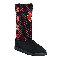 Women's Louisville Cardinals Button Boots
