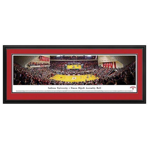 Indiana Hoosiers Basketball Stadium Framed Wall Art