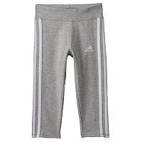 Girls 4-6x adidas Striped Running Tights