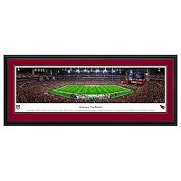 Arizona Cardinals Stadium 50-Yard Line Framed Wall Art