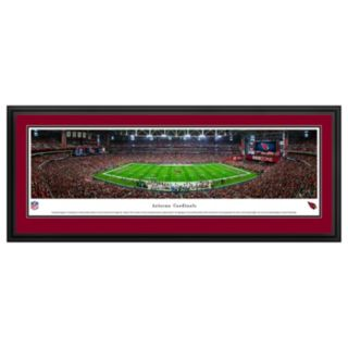 Arizona Cardinals Stadium 50-Yard Line Framed Wall Art