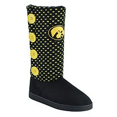 Women's Iowa Hawkeyes Button Boots