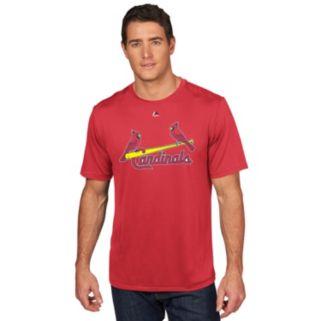 Men's Majestic St. Louis Cardinals Adam Wainwright Player Name and Number Tee