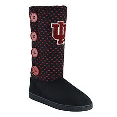 Women's Indiana Hoosiers Button Boots