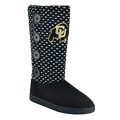 Women's Colorado Buffaloes Button Boots