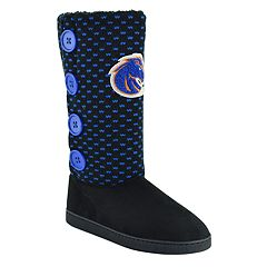 Women's Boise State Broncos Button Boots