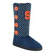 Women's Syracuse Orange Button Boots