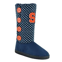 Women's Syracuse Orange Button Boots