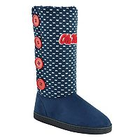 Women's Ole Miss Rebels Button Boots