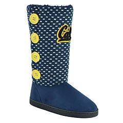 Women's Cal Golden Bears Button Boots