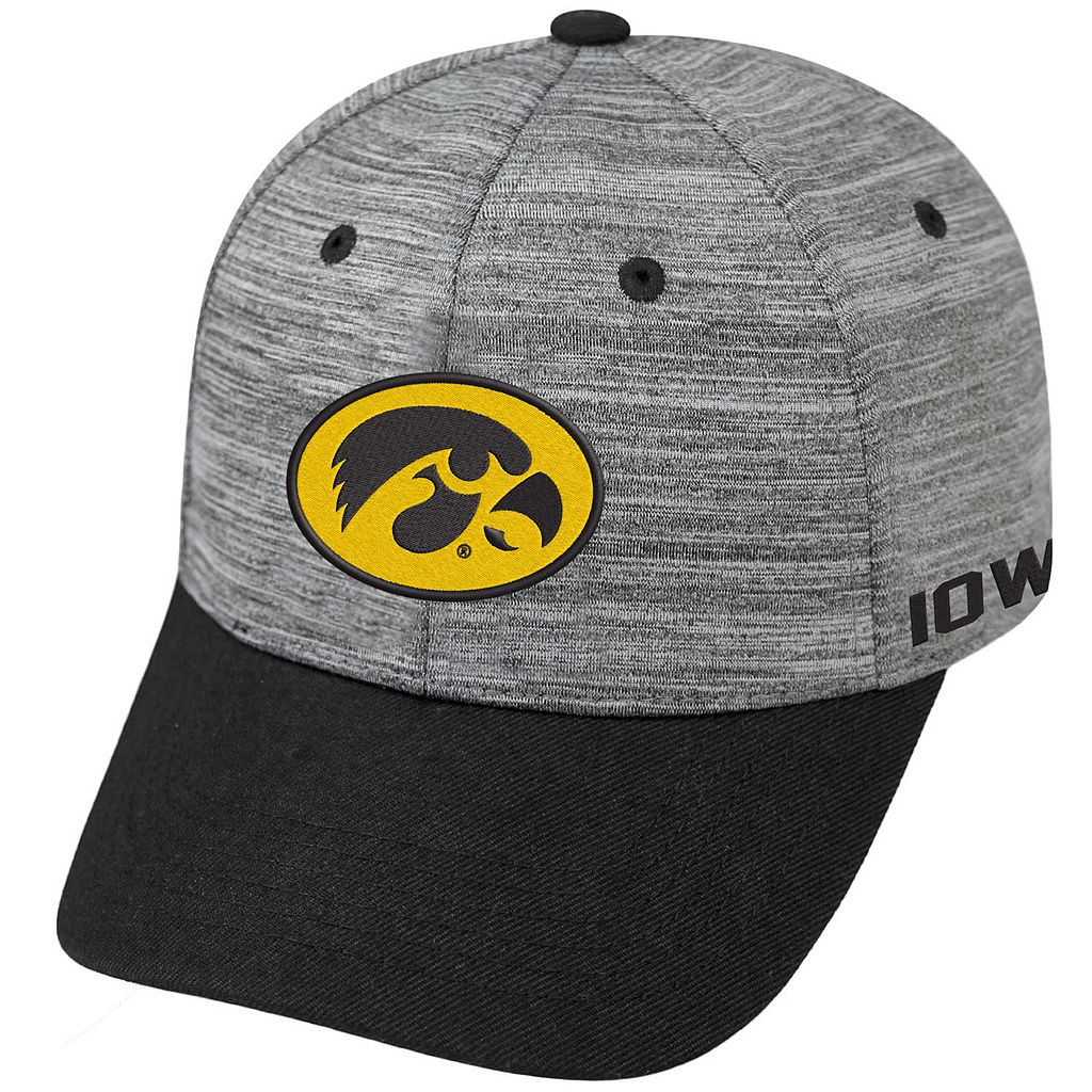 Adult Iowa Hawkeyes Backstop Snapback Cap