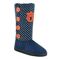 Women's Auburn Tigers Button Boots