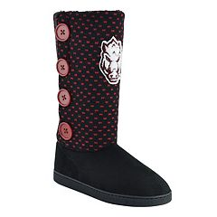 Women's Arkansas Razorbacks Button Boots