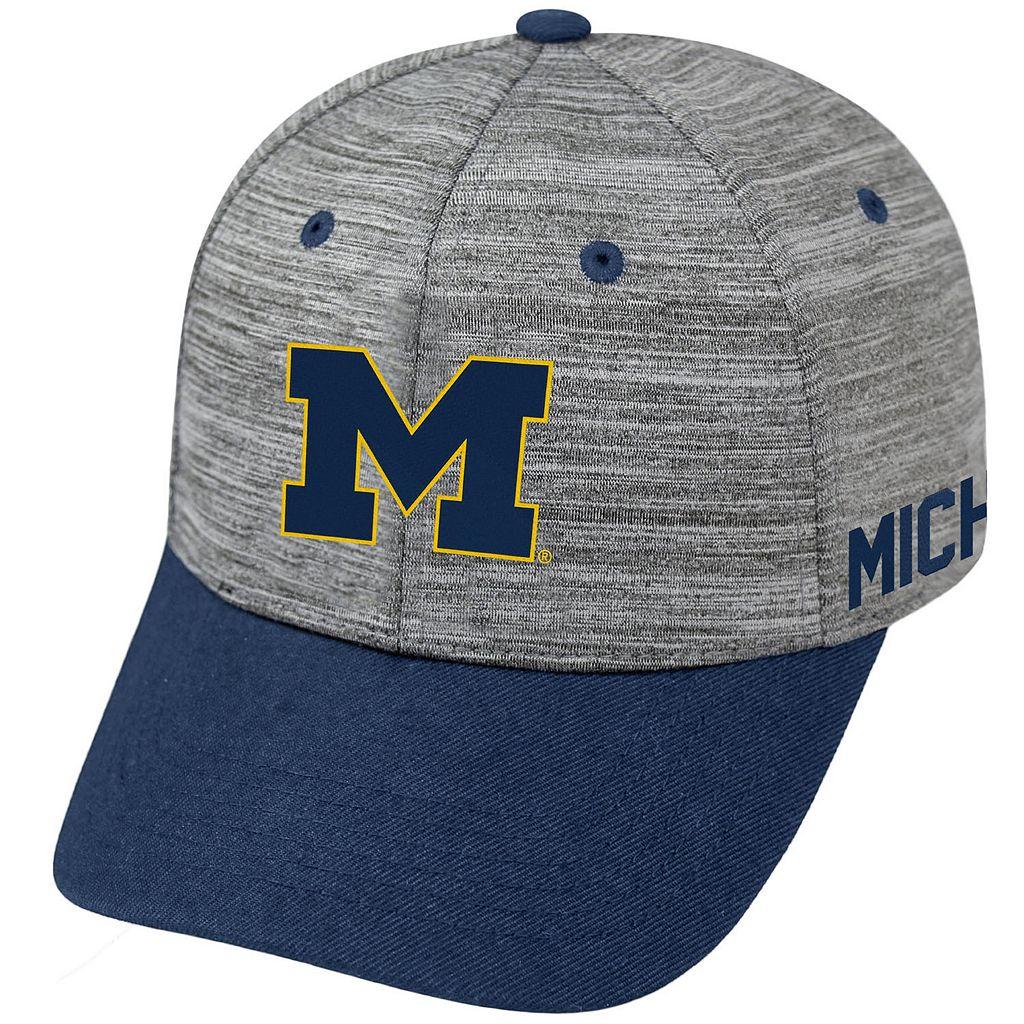 Adult Michigan Wolverines Backstop Snapback Cap