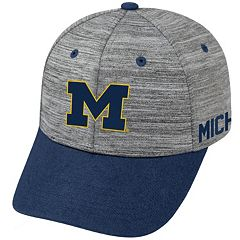 Adult Michigan Wolverines Backstop Snapback Cap