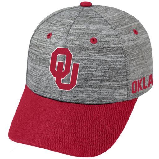 Adult Oklahoma Sooners Backstop Snapback Cap