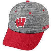 Adult Wisconsin Badgers Backstop Snapback Cap