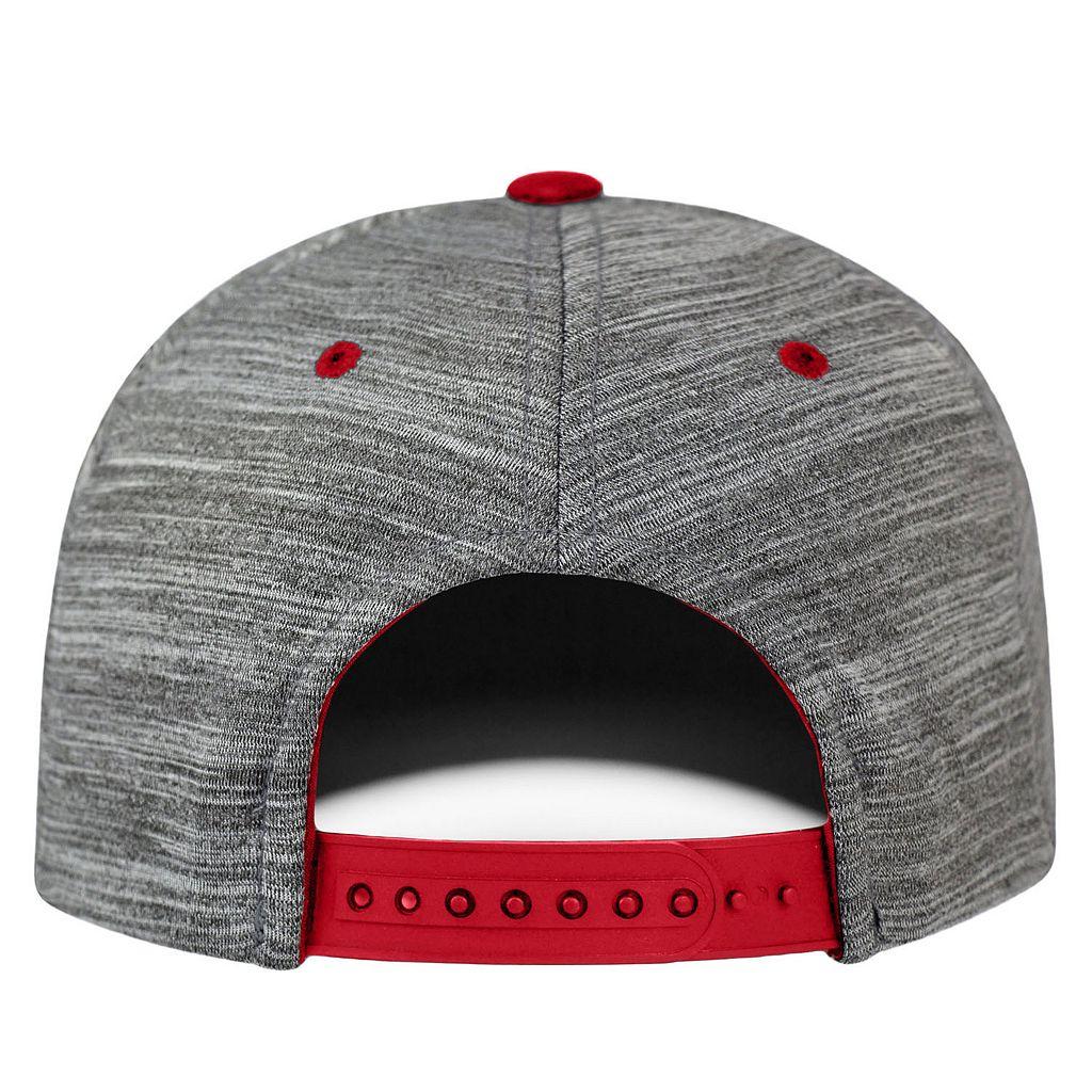 Adult Wisconsin Badgers Backstop Snapback Cap
