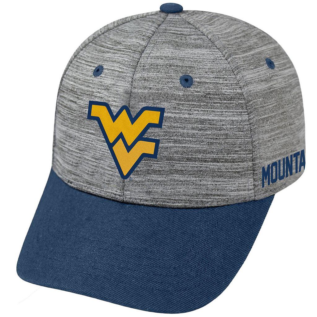 Adult West Virginia Mountaineers Backstop Snapback Cap
