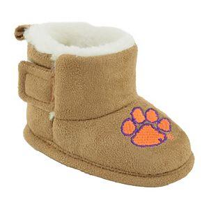 Baby Clemson Tigers Booties