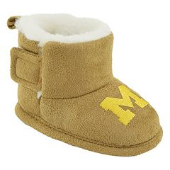 Baby Michigan Wolverines Booties
