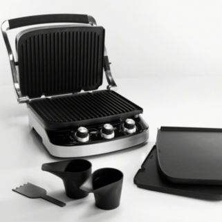 DeLonghi 5-in-1 Grill & Griddle Set