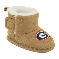 Baby Georgia Bulldogs Booties