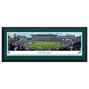 Philadelphia Eagles Stadium 50-Yard Line Framed Wall Art