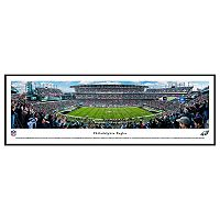 Philadelphia Eagles Stadium 50-Yard Line Framed Wall Art