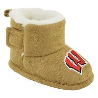 Baby Wisconsin Badgers Booties