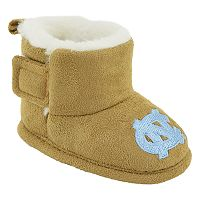 Baby North Carolina Tar Heels Booties