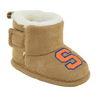 Baby Syracuse Orange Booties