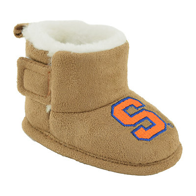 Baby Syracuse Orange Booties