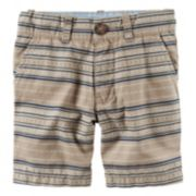 Boys 4-8 Carter's Printed Flat Front Shorts