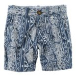 Toddler Boy Carter's Printed Flat Front Shorts