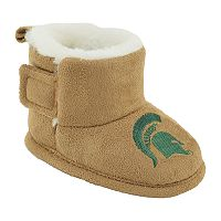 Baby Michigan State Spartans Booties